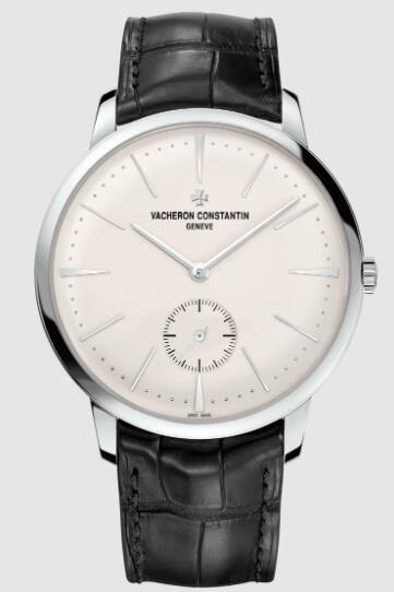 Vacheron Constantin Patrimony manual-winding 18K white gold Replica Watch 1110U/000G-B086