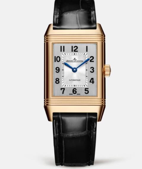 Jaeger Lecoultre Reverso Classic Medium Duetto Pink Gold Ladies Automatic self-winding Replica Watch 2572420