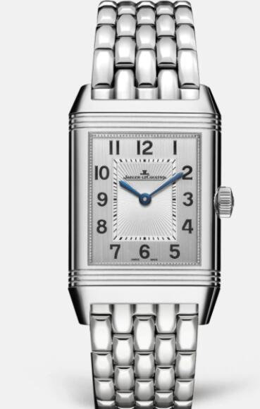 Jaeger Lecoultre Reverso Classic Medium Duetto Stainless Steel Ladies Automatic self-winding Replica Watch 2578120