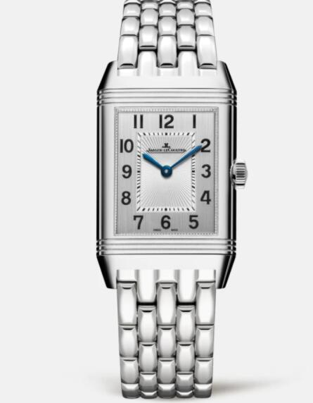 Jaeger Lecoultre Reverso Classic Medium Duetto Stainless Steel Ladies Manual-winding Replica Watch 2588120
