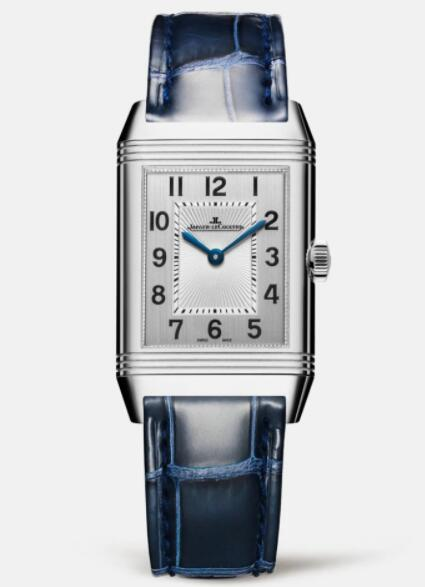 Jaeger Lecoultre Reverso Classic Medium Duetto Stainless Steel Ladies Manual-winding Replica Watch 2588422