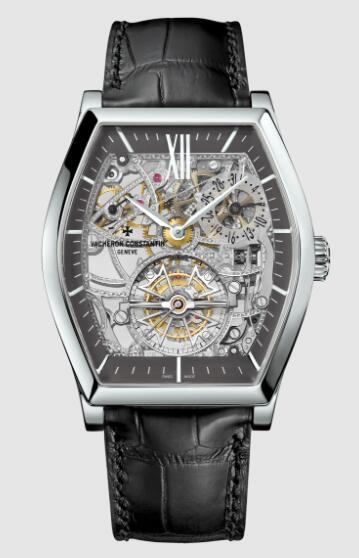 Vacheron Constantin Malte tourbillon skeleton platinum 950 Replica Watch 30135/000P-9842