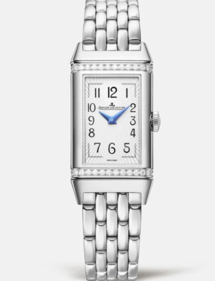 Jaeger Lecoultre Reverso One Duetto Manual-winding Stainless Steel Ladies Replica Watch 3348120