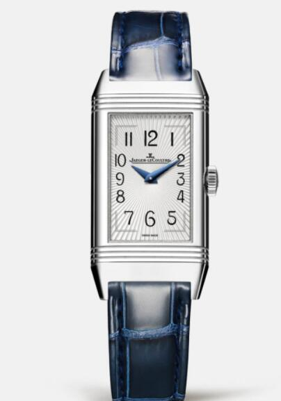 Jaeger Lecoultre Reverso One Duetto Moon Manual-winding Stainless Steel Ladies Replica Watch 3358420