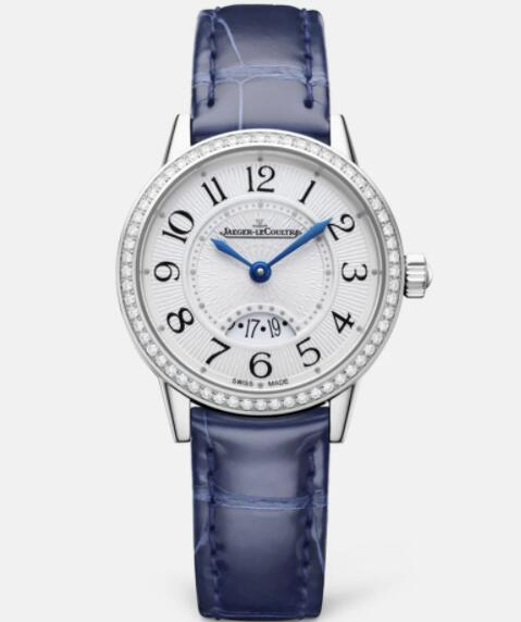 Jaeger Lecoultre Rendez Vous Date Small Quartz Stainless Steel Ladies Replica Watch 3408530