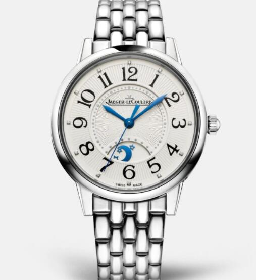 Jaeger Lecoultre Rendez Vous Night & Day Medium Automatic self-winding Stainless Steel Ladies Replica Watch 3448110