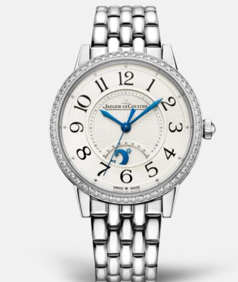 Jaeger Lecoultre Rendez Vous Night & Day Medium Automatic self-winding Stainless Steel Ladies Replica Watch 3448130