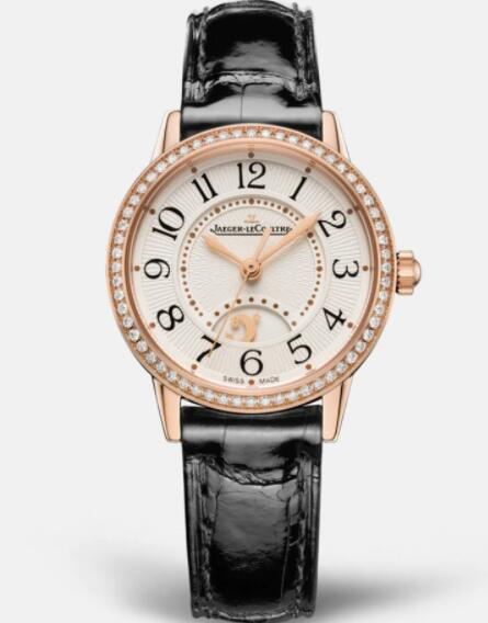 Jaeger Lecoultre Rendez Vous Night & Day Small Automatic self-winding Pink Gold Ladies Replica Watch 3462430