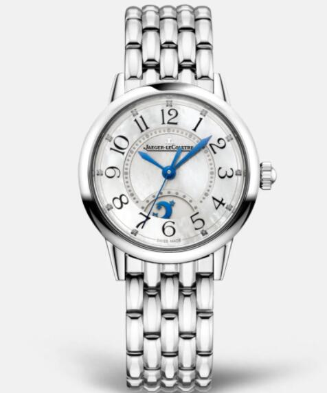 Jaeger Lecoultre Rendez Vous Night & Day Small Automatic self-winding Stainless Steel Ladies Replica Watch 3468110