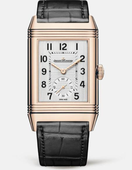 Jaeger Lecoultre Reverso Classic Large Duoface Small Seconds Pink Gold Men Manual-winding Replica Watch 3842520