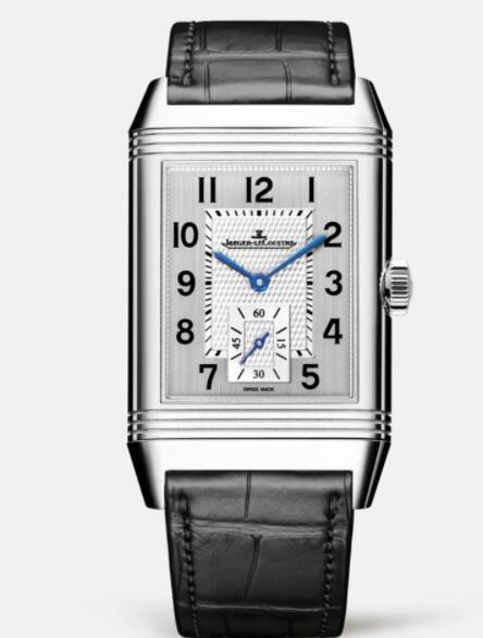 Jaeger Lecoultre Reverso Classic Large Duoface Small Seconds Stainless Steel Men Manual-winding Replica Watch 3848420