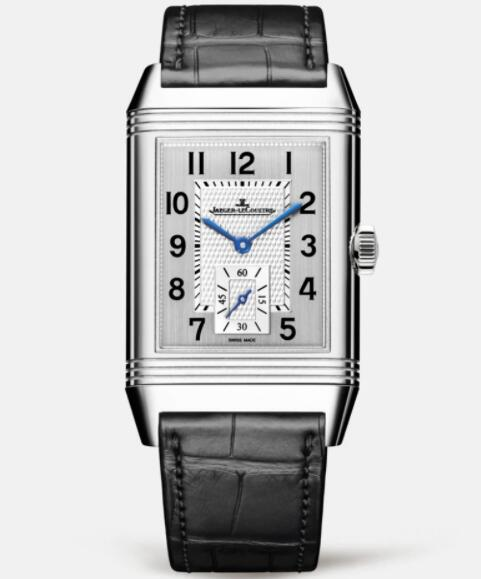 Jaeger Lecoultre Reverso Classic Large Small Seconds Stainless Steel Men Manual-winding Replica Watch 3858520