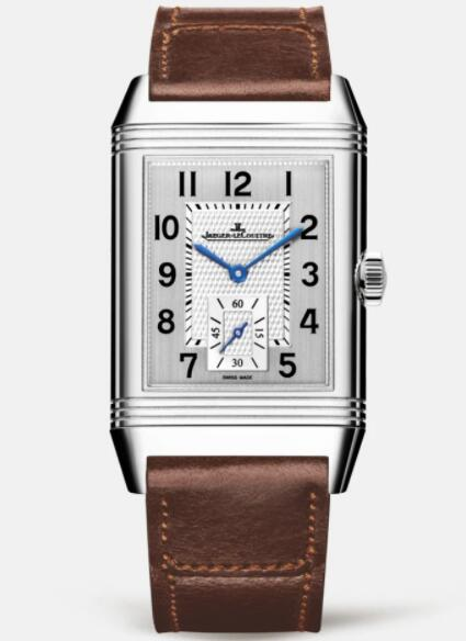 Jaeger Lecoultre Reverso Classic Large Small Seconds Stainless Steel Men Manual-winding Replica Watch 3858522