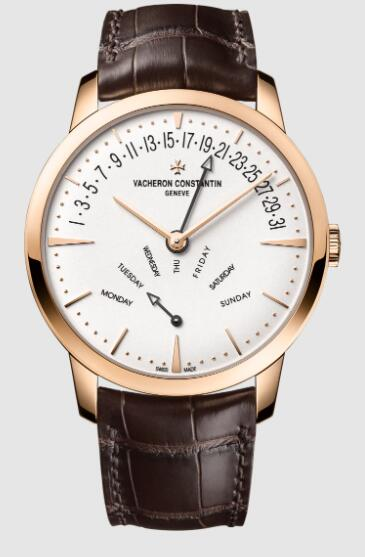 Vacheron Constantin Patrimony retrograde day-date pink gold 4000U/000R-B110 Replica Watch