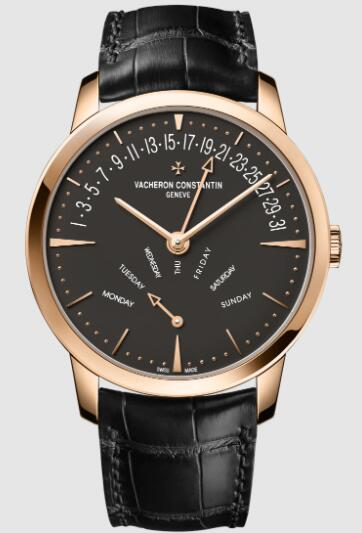 Vacheron Constantin Patrimony retrograde day-date 18K 5N pink gold 4000U/000R-B111 Replica Watch