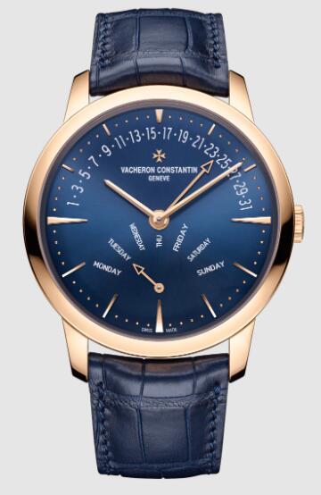 Vacheron Constantin Patrimony retrograde day-date pink gold 4000U/000R-B516 Replica Watch