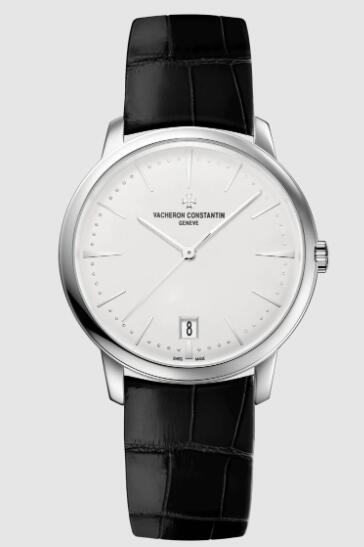 Vacheron Constantin Patrimony self-winding 18K white gold Replica Watch 4100U/000G-B181
