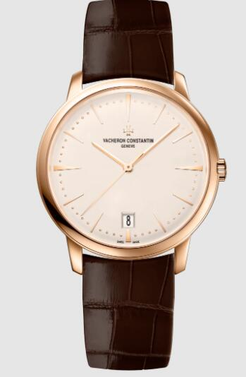 Vacheron Constantin Patrimony self-winding 18K 5N pink gold Replica Watch 4100U/000R-B180