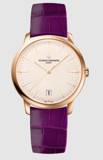Vacheron Constantin Patrimony self-winding 18K 5N pink gold Replica Watch 4100U/001R-B180