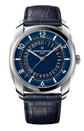 Replica Watch Vacheron Constantin Quai de l'Ile Self-Winding Stainless Steel / Blue 4500S/000A-B364
