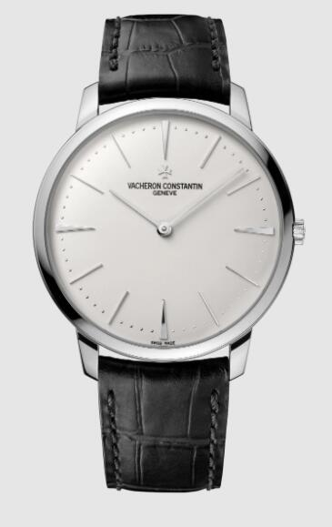 Vacheron Constantin Patrimony manual-winding 18K white gold Replica Watch 81180/000G-9117