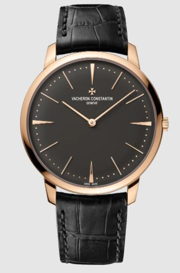 Vacheron Constantin Patrimony manual-winding 18K 5N pink gold Replica Watch 81180/000R-9162
