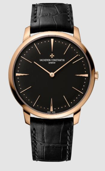 Vacheron Constantin Patrimony manual-winding 18K 5N pink gold Replica Watch 81180/000R-9283