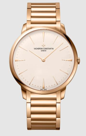 Vacheron Constantin Patrimony manual-winding 18K 5N pink gold Replica Watch 81180/CB1R-9159