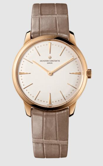 Vacheron Constantin Patrimony manual-winding 18K 5N pink gold Replica Watch 81530/000R-9682