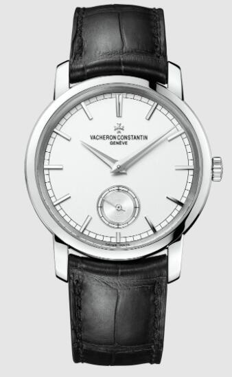 Vacheron Constantin Traditionnelle manual-winding 18K white gold Replica Watch 82172/000G-9383