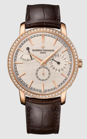 Vacheron Constantin Traditionnelle manual-winding pink gold Replica Watch 83520/000R-9909