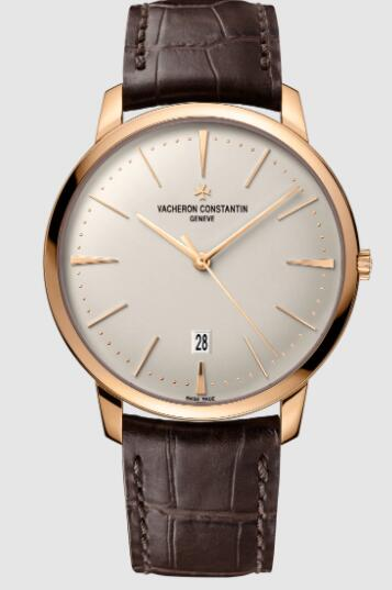 Vacheron Constantin Patrimony self-winding 18K 5N pink gold Replica Watch 85180/000R-9248