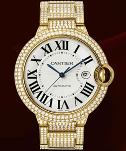 Discount Cartier Ballon Bleu De Cartier watch WE902012 on sale