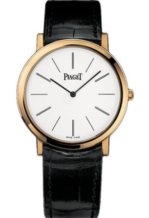 Piaget Altiplano Ultra-Thin Replica Watch Mechanical 38 mm Yellow Gold G0A29120