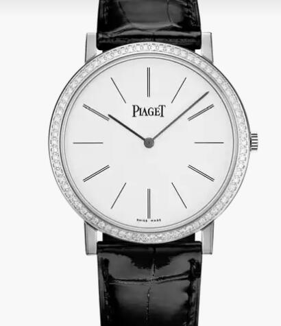 Replica Piaget Altiplano White gold Diamond Ultra-thin mechanical Watch G0A29165