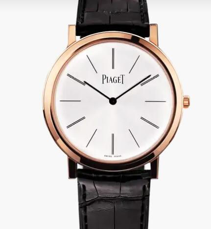 Replica Piaget Altiplano Rose gold Ultra-thin mechanical Watch G0A31114