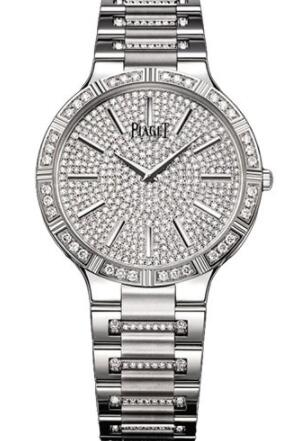 Piaget Dancer Ultra-Thin Replica Watch 38mm White Gold G0A34054