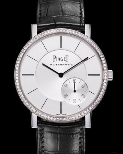 Replica Piaget Altiplano 43 mm Watch G0A36138 White Gold - Bezel set with Diamonds