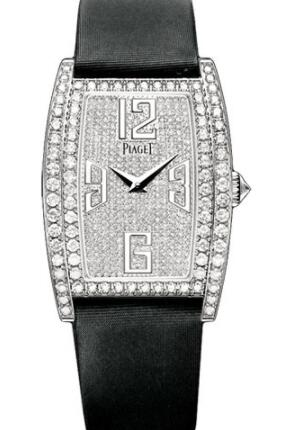 Replica Piaget Limelight Tonneau-Shaped Watch White Gold - 27 x 38 mm G0A36193