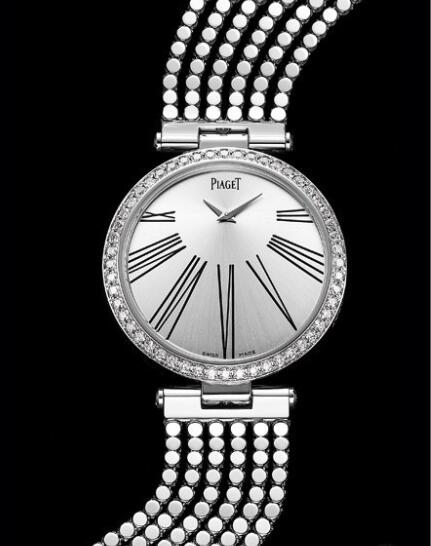 Replica Piaget Limelight Twice Haute Joaillerie Watch G0A36238 White Gold set with diamonds