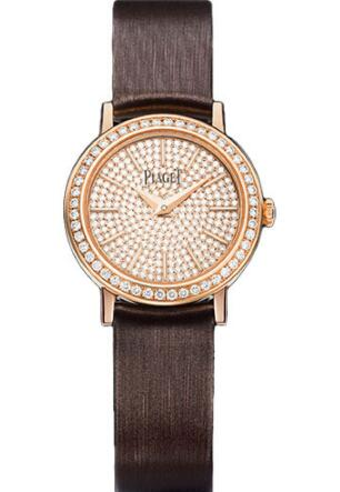 Piaget Altiplano Replica Watch 24mm Rose Gold G0A37034