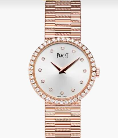 Replica Piaget Traditional Ultra-thin watch in rose gold Piaget Wome Luxury Watch G0A37042