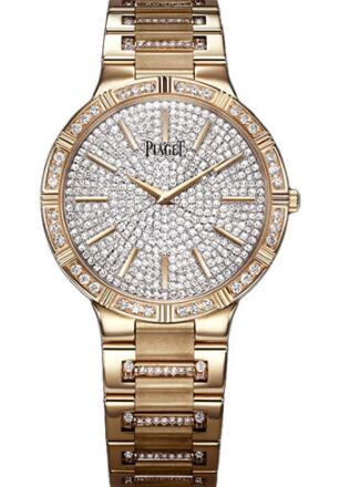 Piaget Dancer Ultra-Thin Replica Watch 38mm Rose Gold G0A37054