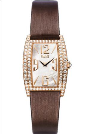 Replica Piaget Limelight Tonneau-Shaped Watch Rose Gold - 22 x 30 mm G0A37090