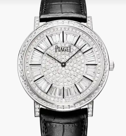 Replica Luxury Piaget Altiplano White Gold Diamond Ultra-thin Automatic Watch G0A37128