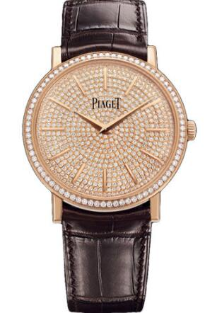 Piaget Altiplano Ultra-Thin Replica Watch Mechanical 38 mm Rose Gold G0A38141