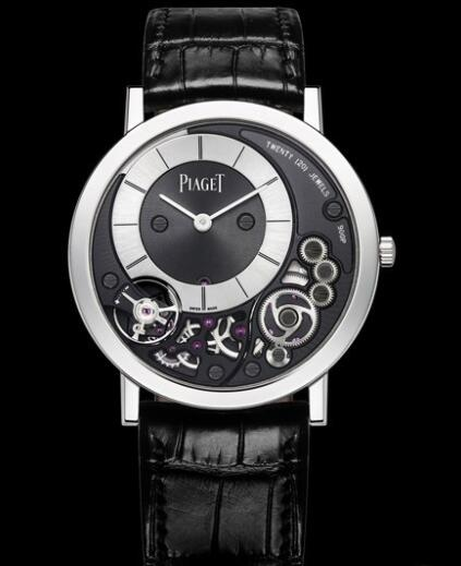 Replica Piaget Altiplano 38 mm 900P Watch G0A39111 White Gold - Alligator Strap