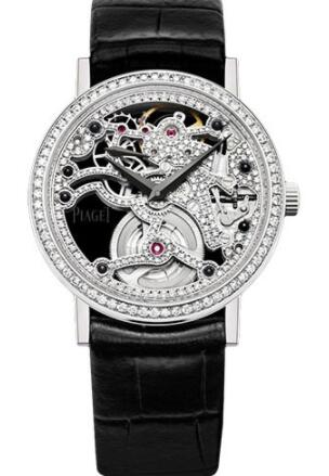 Piaget Altiplano Ultra-Thin Skeleton Replica Watch 34 mm G0A39122