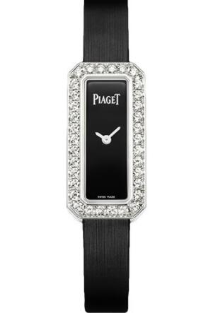 Replica Piaget Limelight Diamonds Watch Emerald-Shaped G0A39200