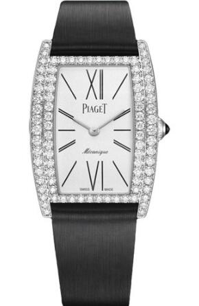 Replica Piaget Limelight Tonneau-Shaped Watch White Gold - 27 x 38 mm G0A40198